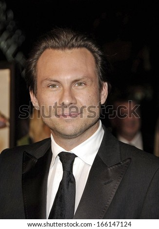 Christian Slater at AFI FEST 2006 Black Tie Opening Night Gala and US Premiere of BOBBY, Grauman's Chinese Theater, Los Angeles, CA, November 01, 2006