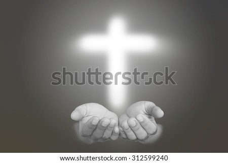 Christianity:Believe in God,Crucifix in Hand