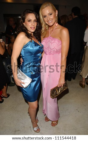 Christina DeRosa and Katie Lohmann at the launch of Phoebe's Phantasy by Lotion Glow. Kaje Boutique, Beverly Hills, CA. 06-16-07