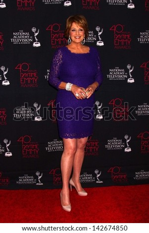 Christina Ferrare at the 2013 Daytime Creative Emmys, Bonaventure Hotel, Los Angeles, CA 06-14-13
