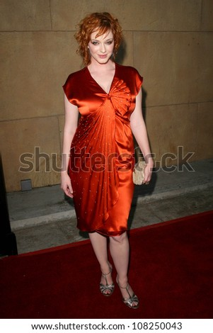 "Christina Hendricks  at the Premiere of ""Mad Men"" Season 2. Egyptian Theatre, Hollywood, CA. 07-21-08"