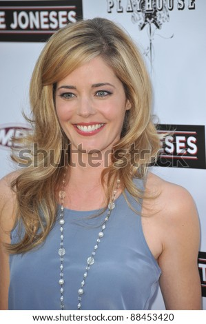 "Christina Moore at the Los Angeles premiere of ""The Joneses"" at the Arclight Theatre, Hollywood. April 8, 2010  Los Angeles, CA Picture: Paul Smith / Featureflash"