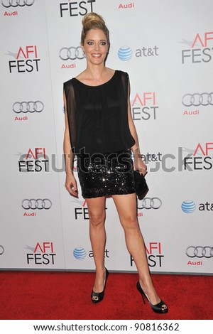 "Christina Moore at the premiere of ""My Week With Marilyn"", part of the 2011 AFI Fest, at Grauman's Chinese Theatre, Hollywood. November 6, 2011  Los Angeles, CA Picture: Paul Smith / Featureflash"