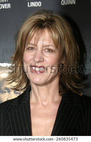 "Christine Lahti at the Los Angeles Premiere of ""The Exonerated"" held at Directors Guild of America in Hollywood, California, United States on January 13, 2005."