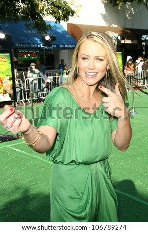 Christine Taylor  at the Los Angeles Premiere of 'Madagascar Escape 2 Africa'. Mann Village Theatre, Westwood, CA. 10-26-08