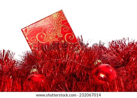 christmans gift - stock photo