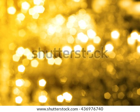 Christmas and Happy New Year background. Festive abstract background with bokeh out of focus lights - stock photo