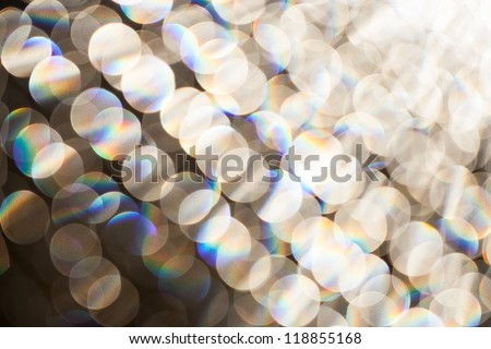 Christmas and New Year background blur - stock photo