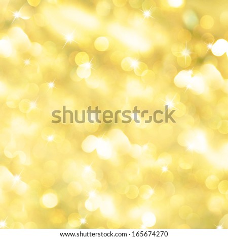 Christmas and New Year feast bokeh background - stock photo