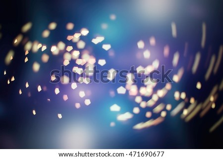 Christmas and New Year feast bokeh background