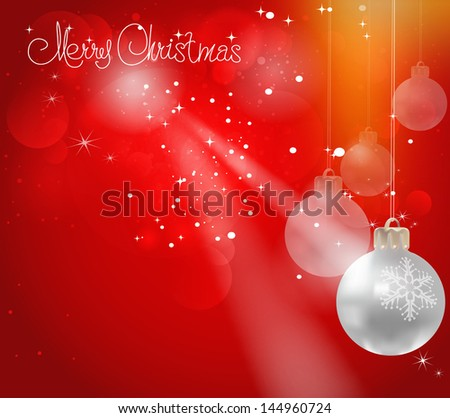 Christmas Background. Abstract Illustration for your design.
