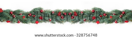 Christmas Background, Banner - stock photo