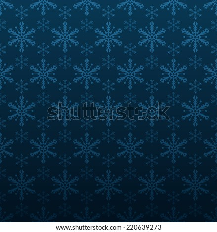 Christmas background, blue