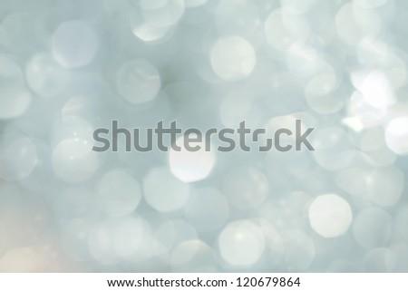 Christmas background bokeh - stock photo