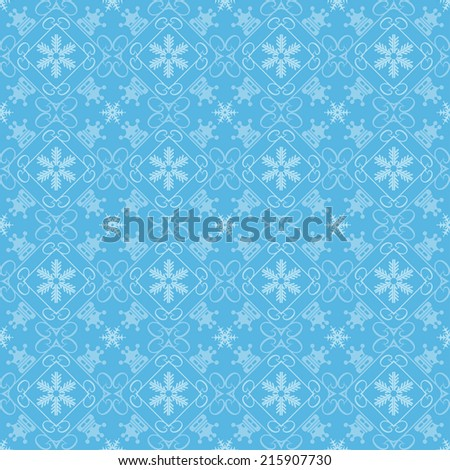 Christmas background, design holiday abstract decoration, seamless pattern