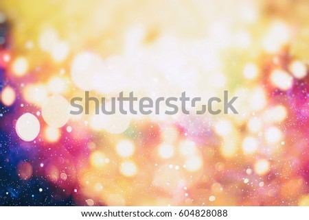 Christmas background. Elegant abstract background with bokeh defocused lights