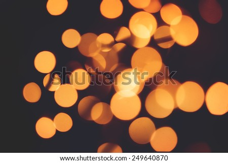 Christmas background. Festive abstract background with bokeh defocused lights - stock photo
