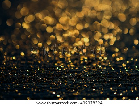 Christmas background. Festive abstract background with bokeh defocused lights