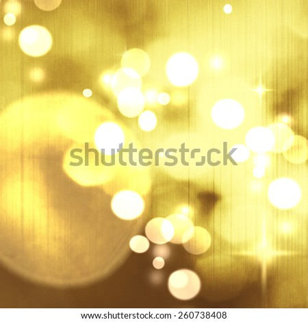 Christmas background. Festive abstract background with bokeh defocused lights and stars - stock photo