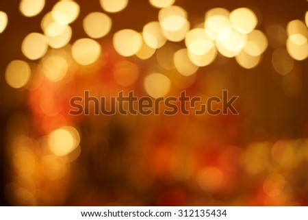 Christmas Background - Festive Abstract Background with Defocused Lights 02 - stock photo