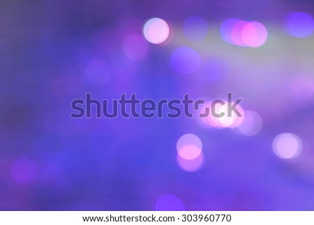 Christmas background. Festive elegant abstract background with bokeh lights and stars - stock photo