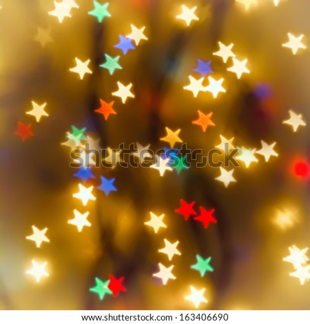 Christmas background for design - stock photo