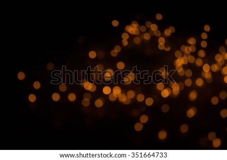 Christmas background. Golden Abstract Backdrop with Lights