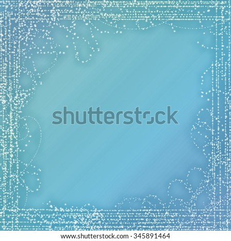 Christmas Background. Golden Holiday Abstract Glitter Defocused Background With Blinking Stars. - stock photo