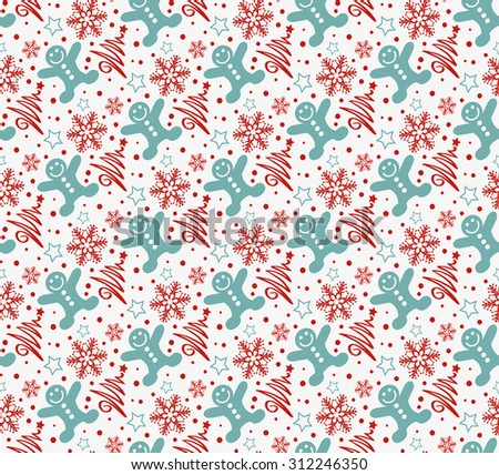 Christmas background good for wrapping paper wallpaper for web design Christmas ornaments seamless pattern Christmas decoration ideas - stock photo