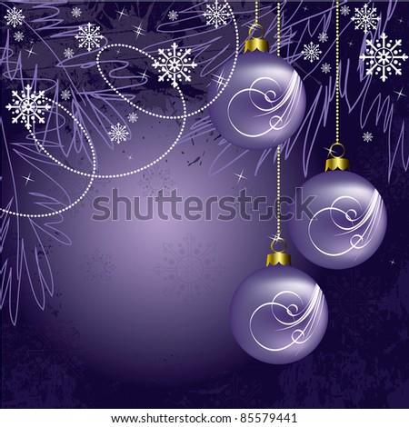 Christmas Background. Illustration. - stock photo