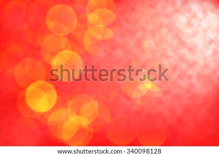 Christmas background or abstract background with smoke - stock photo