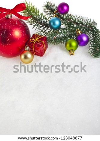 christmas background surface with copy space for your text