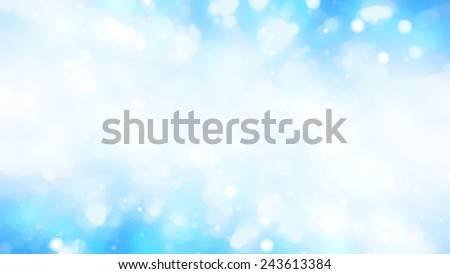 christmas background. the winter background, falling snowflakes. - stock photo