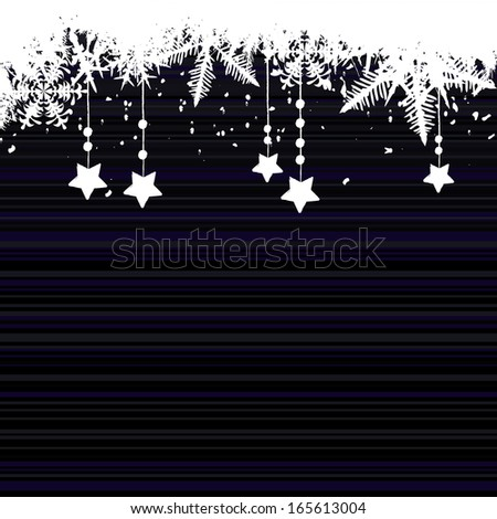Christmas background with a space for your text -  illustration - stock photo