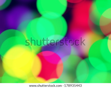 Christmas background with shiny glowing lights