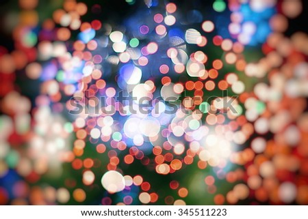 Christmas background with texture lights