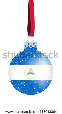 Christmas ball - Nicaragua - stock photo