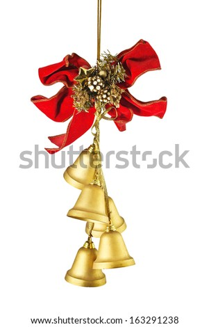 christmas bell - stock photo
