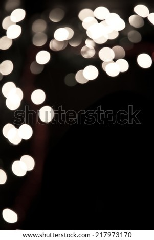 Christmas black background whit copy space - stock photo