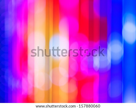 Christmas blurred lights background. Defocused lights background. Abstract colorful background.