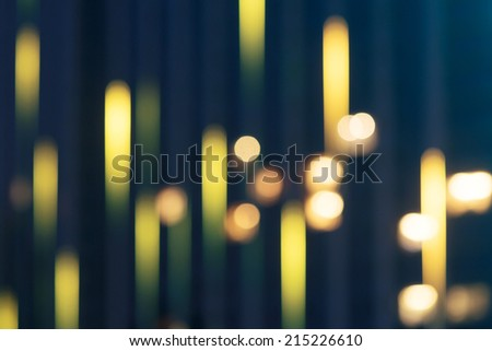 Christmas blurred lights background. Defocused lights background. Abstract colorful background. - stock photo