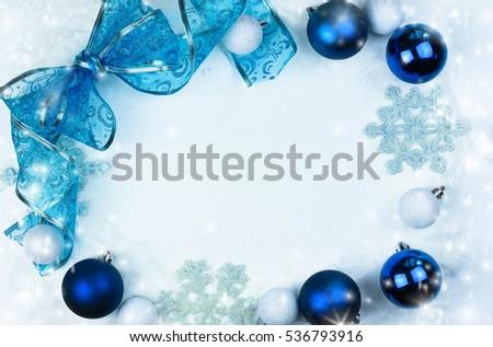 Christmas Border Stock Photo Royalty Free 536793916