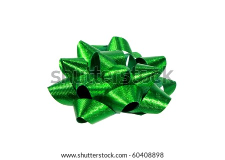 Christmas bow - stock photo