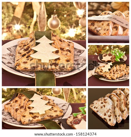 Christmas cakes  - stock photo