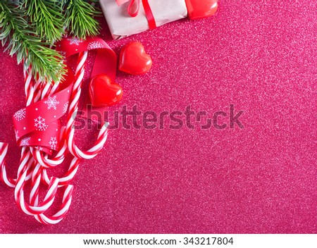christmas candy - stock photo