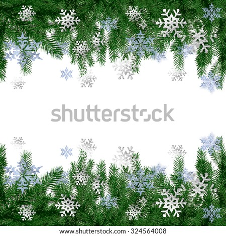 Christmas card - stock photo
