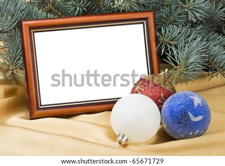 Christmas cards - stock photo