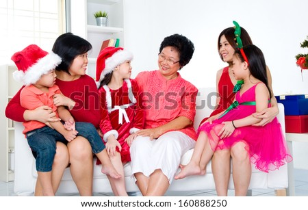 Christmas celebration - stock photo