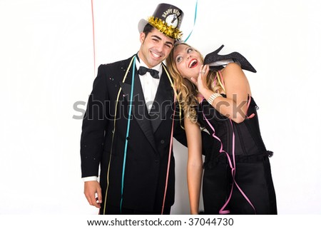 christmas celebration or party event - stock photo