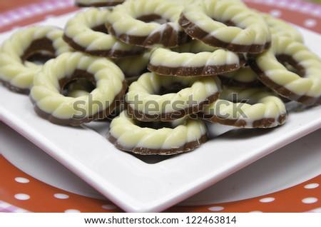 Christmas chocolates - stock photo